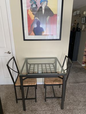 Small dining table, coffee table, side table, vouch, love seat, TV for Sale in San Diego, CA