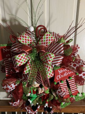 Christmas Elf Wreath for Sale in Hublersburg, PA