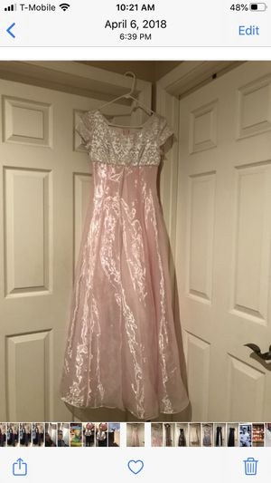 Pink formal/prom dress for Sale in Gilbert, AZ