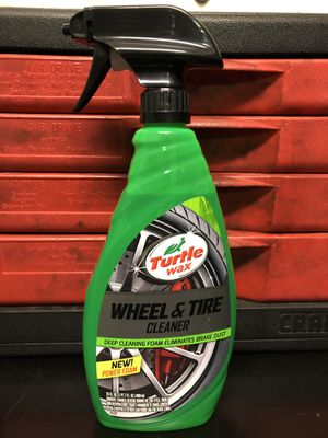 Turtle wax wheel & tire cleaner for Sale in Palmdale, CA