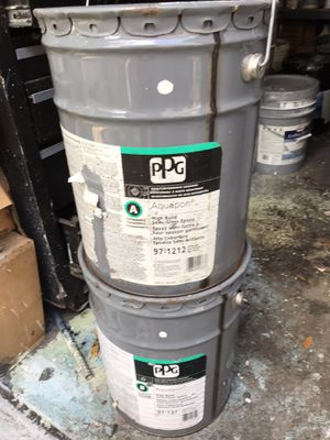 Aqua pon high build epoxy polyurathane polimiead for Sale in Dover, FL