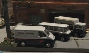 CORGI BRITISH AIRWAYS TRUCK & BUS LOT LOOSE BUT MINT CONDITION for Sale in West New York, NJ