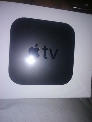Apple TV active and ready new in box all cable channels YouTube Hulu Netflix Google App store and more for Sale in Niagara Falls, NY