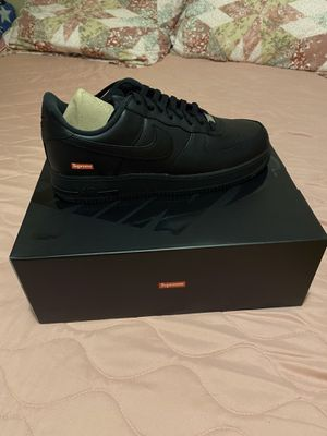 Black Supreme Air Force 1 for Sale in Long Beach, CA