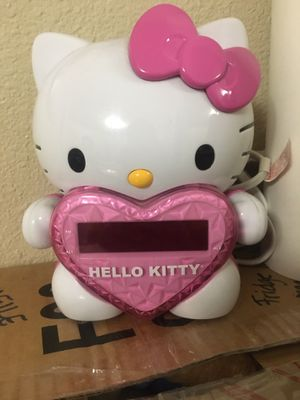 Hello kitty clock for Sale in Perris, CA