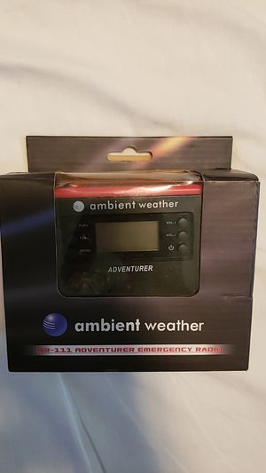 Ambient Weather Emergency Radio for Sale in Tacoma, WA