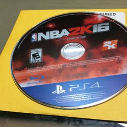 PS4 NBA 2k 16 for Sale in Hialeah,  FL