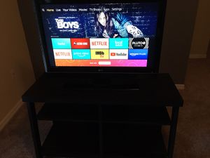 37 inch LG LCD TV with TV Stand for Sale in Zephyrhills, FL