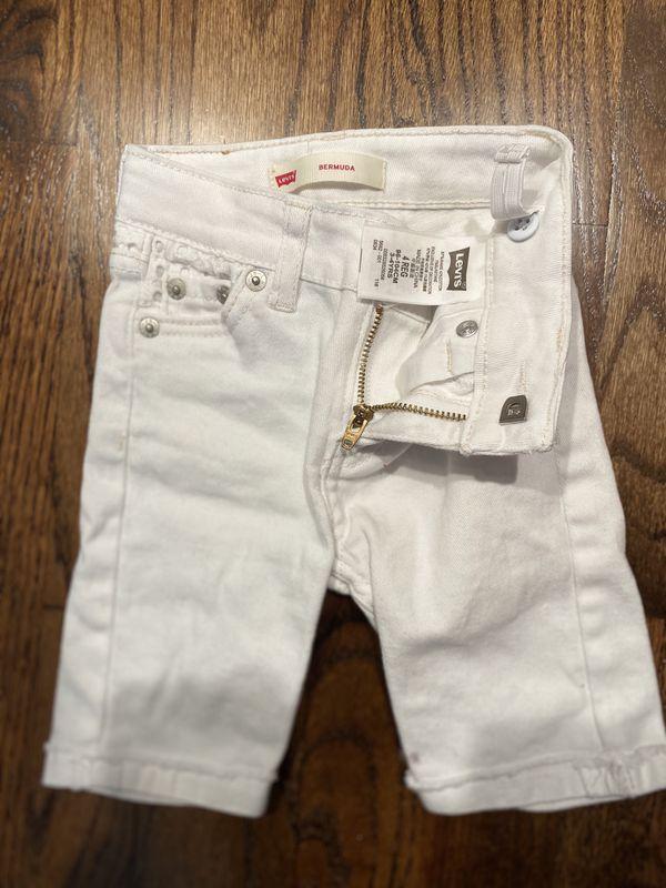 Levis shorts size 3t girls shorts