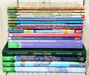 Magic Tree House Lot of 17 Books - 13 Paperback, 4 Hardcover, Merlin Missions for Sale in Harrisonburg, VA