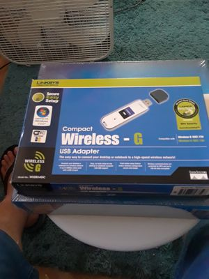 LINKSYS COMPACT WIRELESS G USB for Sale in Tampa, FL