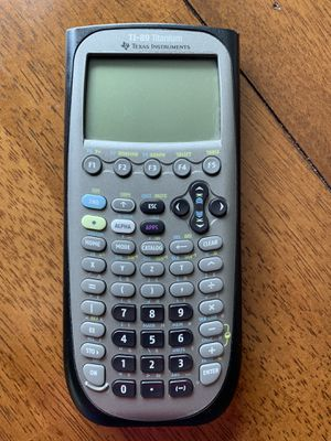 Texas Instrument Ti 89 Titanium Programmable Graphing for Sale in Morgantown, WV