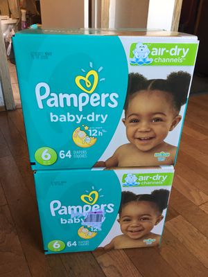 Pampers SIZE 6 128 pañales for Sale in Long Beach, CA