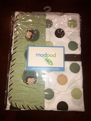 New Modpod Monkey Diaper Stacker for Sale in San Jacinto, CA