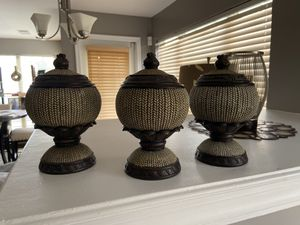 3 decorative canisters for Sale in Woodbridge, VA
