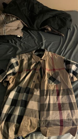 Real men's Burberry shirt size XL for Sale in Pittsburgh, PA