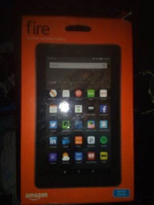 Amazon fire tablet for Sale in Grand Prairie, TX