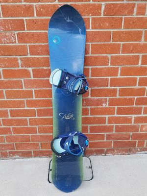 Burton Fish Snowboard, bindings and boots. for Sale in Claremont, CA