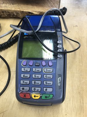 Credit card machine with receipt tape for Sale in San Diego, CA