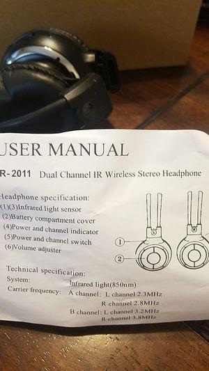 Wireless Stereo headphones for Sale in Corona, CA