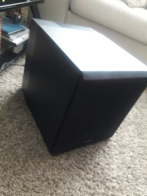 Sony active subwoofer gently used no scratches like new for Sale in Atlanta, GA