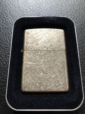 Vintage silver plate jack Daniels zippo for Sale in Clinton Township, MI
