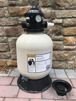 Pentair - High Rate Sand Filter for pool. for Sale in Philadelphia, PA