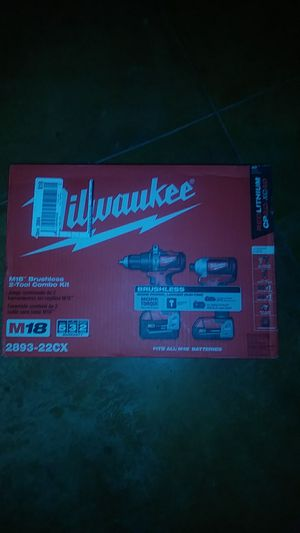 New Milwaukee Brushless kit WILL NOT RESPOND TO LOW BALLERS for Sale in Moriarty, NM
