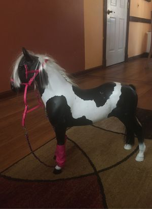 Black and white Horse for American girl doll for Sale in Garner, NC