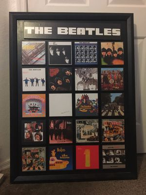 The Beatles. Music. Wall art. Decor. Albums. for Sale in Chandler, AZ