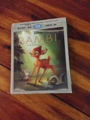 Bambi movie (Blu-Ray + DVD + Digital HD) for Sale in Seattle, WA
