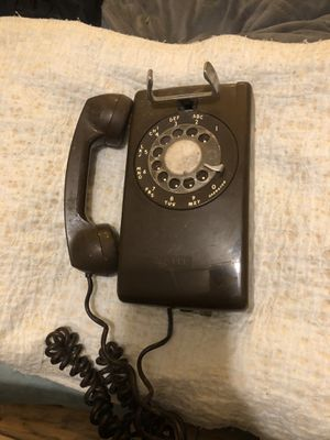 Two retro phones one rotary for Sale in Saint James, MO