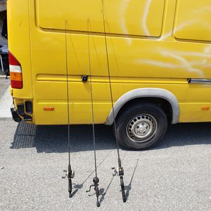 3 Fishing Rods and Reels for Sale in Washington, DC