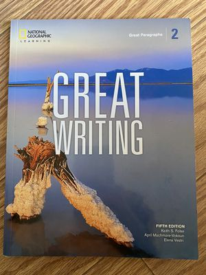 Great Writing 2 for Sale in Palatine, IL