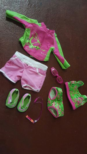 American girl doll Jess kayak outfit for Sale in Richmond, TX