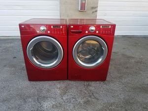 LG WASHER AND GAS DRYER SET ! for Sale in Kearns, UT