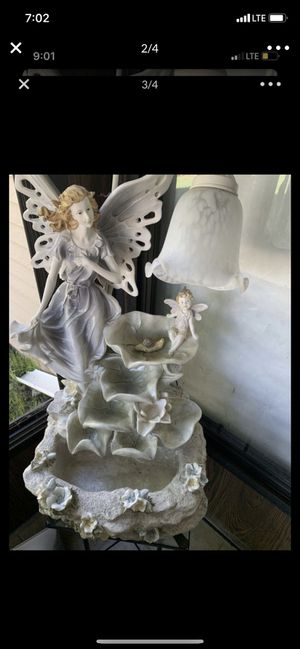 Lamp and fountain for Sale in Bloomfield Hills, MI