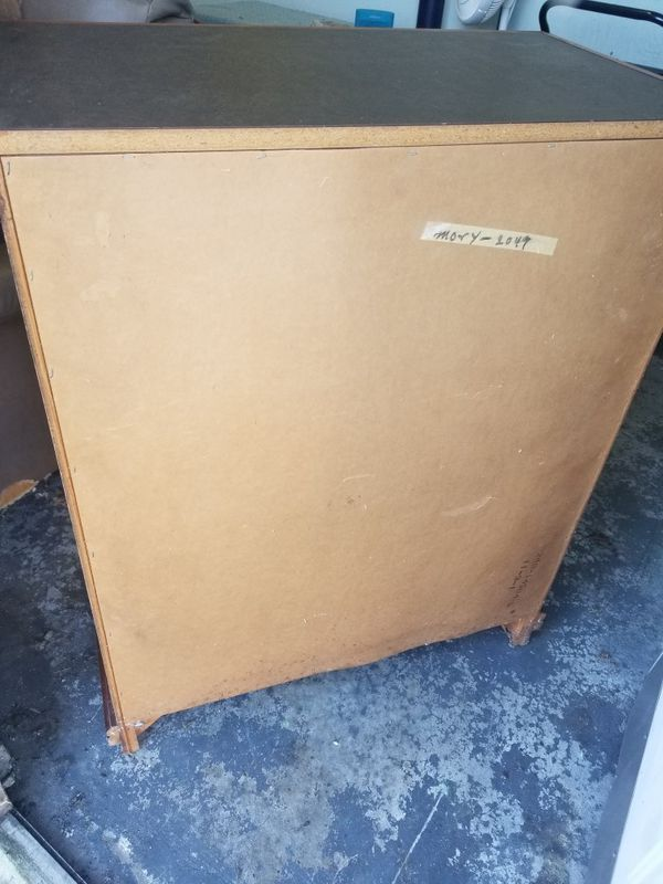 4 Drawer Wood Dresser