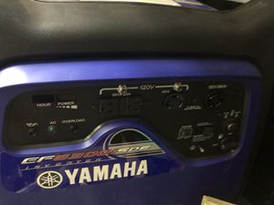 Yamaha EF6300isde 5500 watt electric converter for Sale in Chandler, AZ