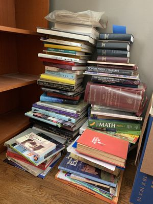 Donation books and household items for Sale in San Bruno, CA