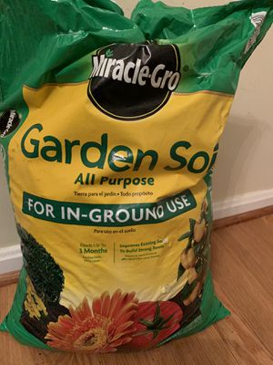 Free Bag of plant soil (Never been used) for Sale in Burtonsville, MD