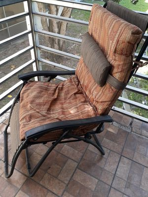 Patio chairs . Purchase one,the other free! for Sale in Margate, FL