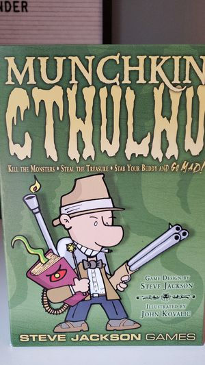 Munchkin Cthulhu Board Game - Role Playing Game / Quest Game for Sale in Herndon, VA