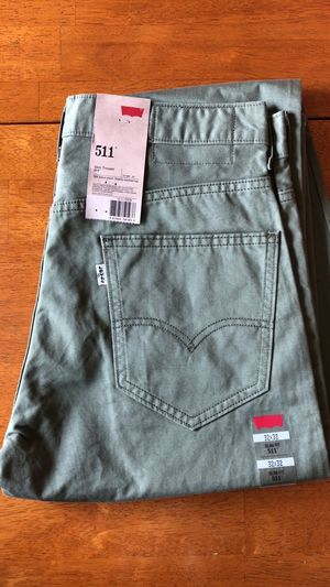 Men's Levi 511 Slim Fit Trousers for Sale in Chantilly, VA