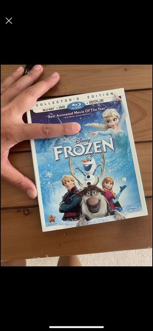 Frozen DVD and Blu-ray for Sale in NJ, US