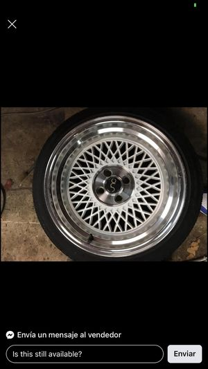 Rims JNC 16x9 Tires 195/40/16 for Sale in West Hartford, CT
