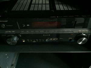 Pioneer elite series receiver I current amplifiers suffer 150 paid 700 Xm ready for Sale in Chino, CA