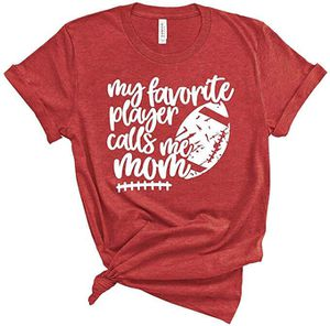 My Favorite Player Football Mom Graphic Tee for Sale in Villa Park, CA