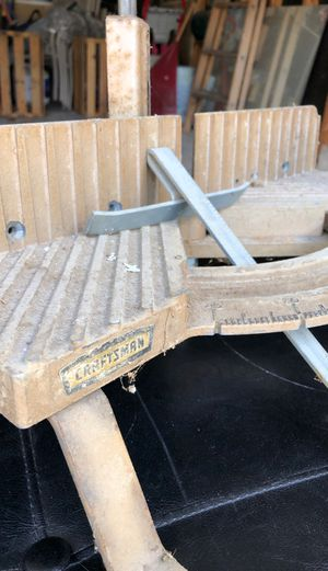 Vintage Miter saw Craftsman. for Sale in Manchester, MO