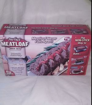 AS SEEN ON TV Perfect Meatloaf Pan Set!! for Sale in Las Vegas, NV
